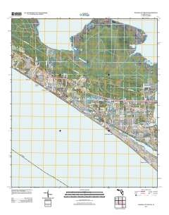 Map Of Panama City Beach Florida.Usgs Us Topo 7 5 Minute Map For Panama City Beach Fl 2012