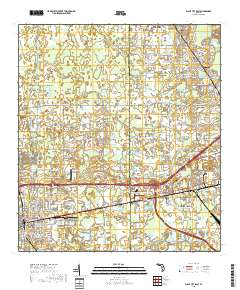 Map Of Plant City Florida.Usgs Us Topo 7 5 Minute Map For Plant City East Fl 2018