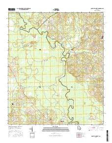 USGS US Topo 7.5-minute map for Abbeville North, GA 2017 ...