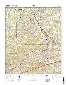 Usgs 1 24 000 Austell Georgia 14 00 Charts And Maps Onc And