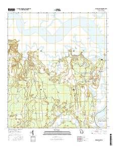 Map Of Kingsland Georgia.Usgs Us Topo 7 5 Minute Map For Kingsland Ne Ga 2017 Sciencebase