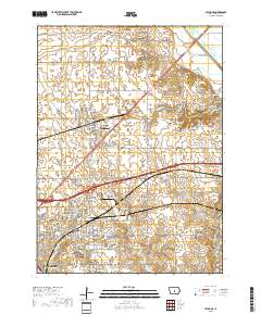 Usgs 1 24 000 Altoona Iowa 14 00 Charts And Maps Onc And Tpc
