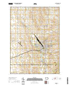 Oelwein Iowa Map.Usgs Us Topo 7 5 Minute Map For Oelwein Ia 2018 Sciencebase Catalog