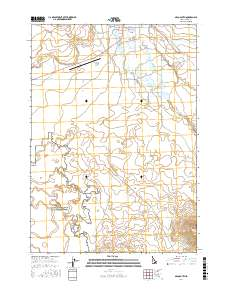 Usgs 1 24 000 Arco South Idaho 14 00 Charts And Maps Onc And