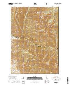 big creek idaho map Usgs Us Topo 7 5 Minute Map For Big Creek Peak Id 2020 Data Gov big creek idaho map