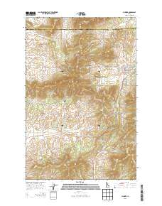 Plummer Idaho Map.Usgs Us Topo 7 5 Minute Map For Plummer Id 2013 Sciencebase Catalog
