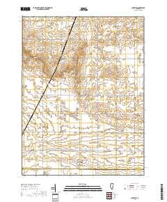 USGS US Topo 7 5-minute map for Longview, IL 2018