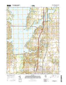 Rend Lake Illinois Map.Usgs Us Topo 7 5 Minute Map For Rend Lake Dam Il 2015 Sciencebase