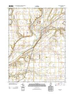 Usgs Us Topo 7 5 Minute Map For Delphi In 2013 Sciencebase Catalog