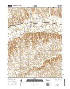 Alton Kansas Map.Usgs 1 24 000 Alton Kansas 14 00 Charts And Maps Onc And Tpc