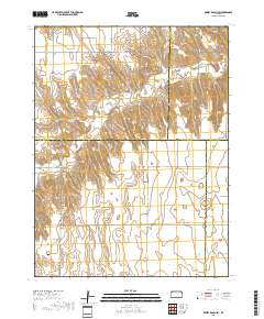 USGS US Topo 7.5-minute map for Dewey Ranch SW, KS 2018 -  ScienceBase-Catalog