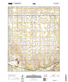 USGS US Topo 7.5-minute map for Kingman NW, KS 2018 - Data.gov