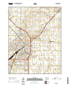 map of newton kansas Usgs Us Topo 7 5 Minute Map For Newton Ks 2018 Sciencebase Catalog map of newton kansas