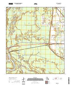 USGS US Topo 7 5-minute map for Lottie, LA 2018 - Data gov