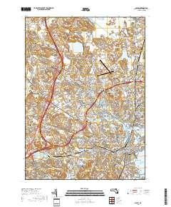 USGS US Topo 7.5-minute map for Salem, MA 2018 - Data.gov Salem Us Map on west oregon map, salem witch trials map, salem new york, salem illinois, salem oregon, salem state map,