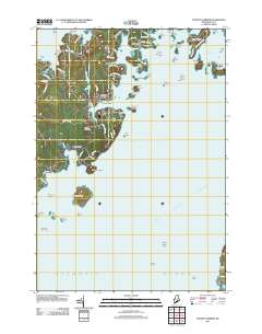 Tenants Harbor Maine Map.Usgs Us Topo 7 5 Minute Map For Tenants Harbor Me 2011