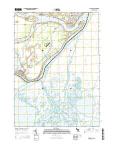 Algonac Michigan Map.Usgs Us Topo 7 5 Minute Map For Algonac Mi On 2014 Sciencebase