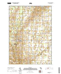Usgs Us Topo 7 5 Minute Map For Carson City Mi 2019 Data Gov