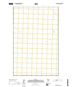 USGS US Topo 7 5-minute map for Orleans OE N, MN,MB 2019