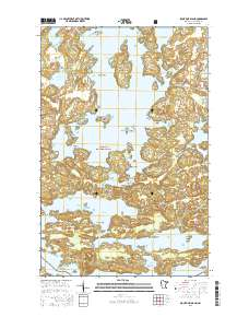 USGS US Topo 7 5-minute map for Sioux Pine Island, MN 2016