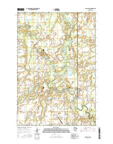 Usgs Us Topo 75 Minute Map For Staples Ne Mn 2016 Sciencebase - Staples-us-map