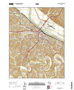 USGS US Topo 7.5-minute map for Jefferson City, MO 2017 ...