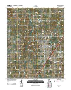 Usgs us topo 75 minute map for lebanon mo 2011 sciencebase catalog thumbnail jpg image of map sciox Image collections