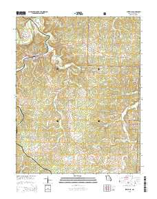 Us Map Mo.Usgs Us Topo 7 5 Minute Map For Steelville Mo 2015 Sciencebase