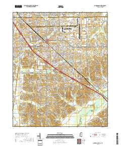 USGS US Topo 7.5-minute map for Olive nch, MS,TN 2018 ... Desoto County Gis Map on