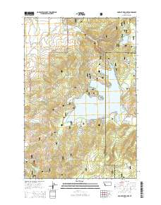 georgetown lake mt map Usgs Us Topo 7 5 Minute Map For Georgetown Lake Mt 2014 georgetown lake mt map