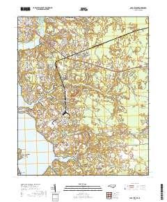 Usgs Us Topo 7 5 Minute Map For Camp Lejeune Nc 2019 Data Gov