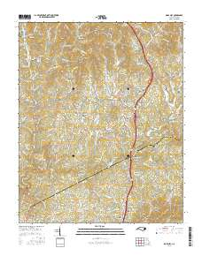 Usgs Us Topo 7 5 Minute Map For Mars Hill Nc 2016 Sciencebase Catalog