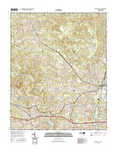 Usgs Us Topo 7 5 Minute Map For Mount Holly Nc 2016 Sciencebase