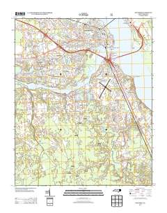 Usgs Us Topo 7 5 Minute Map For New Bern Nc 2013 Sciencebase Catalog