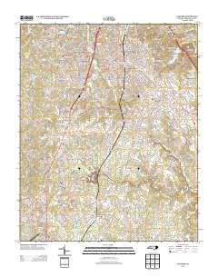 Usgs Us Topo 7 5 Minute Map For Sanford Nc 2013 Sciencebase Catalog