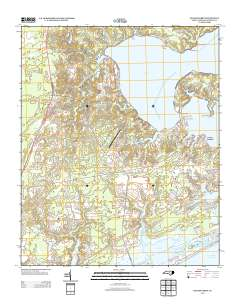 Usgs Us Topo 7 5 Minute Map For Sneads Ferry Nc 2013 Sciencebase