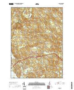 Candia Nh Map on