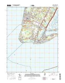 USGS 1:24,000: Cape May, New Jersey - $14.00 : Charts and Maps, ONC on