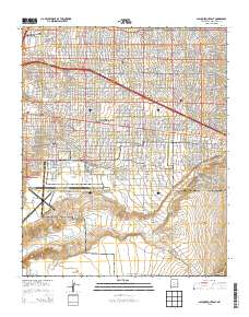 USGS US Topo 7.5-minute map for Albuquerque East, NM 2013 ...