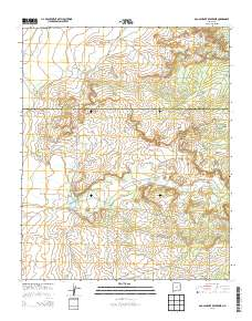 Ojo Caliente New Mexico Map.Usgs Us Topo 7 5 Minute Map For Ojo Caliente Reservoir Nm 2013