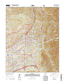 USGS US Topo 7.5-minute map for Santa Fe, NM 2013 ... Santa Fe Nm Us Map on san diego on us map, tacoma wa us map, des moines ia us map,