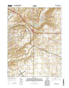 New Paris Ohio Map.Landmarkhunter Com New Paris Ohio 7 5 Minute Quadrangle