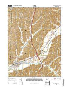 Newcomerstown Ohio Map.Usgs Us Topo 7 5 Minute Map For Newcomerstown Oh 2013 Sciencebase