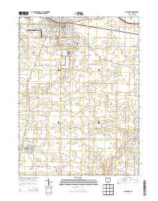 Usgs Us Topo 7 5 Minute Map For Van Wert Oh 2013 Data Gov