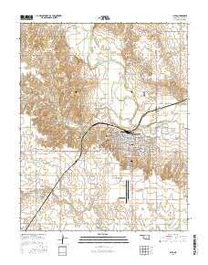 Usgs 1 24 000 Alva Oklahoma 14 00 Charts And Maps Onc And