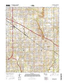 USGS US Topo 7.5-minute map for Broken Arrow, OK 2016 ...
