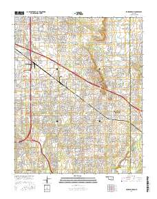 USGS US Topo 7.5-minute map for Broken Arrow, OK 2016 - ScienceBase ...