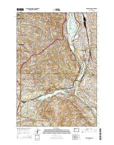 lake oswego oregon map Usgs Us Topo 7 5 Minute Map For Lake Oswego Or 2014 Sciencebase Catalog lake oswego oregon map