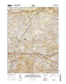 Usgs Us Topo 75 Minute Map For Hatboro Pa 2016 Sciencebase Catalog - Us-map-pa