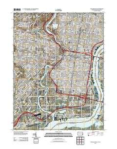 USGS US Topo 7.5-minute map for Philadelphia, PA-NJ 2011 ...